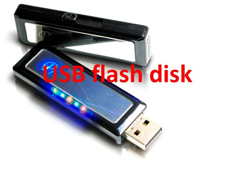 Úvod USB flash paměť, někdy též USB klíč, paměťový klíč USB či USB flash disk (hovoro- vě fleška či USB klíček), je paměťové zařízení, používané převážně jako náhrada diskety.