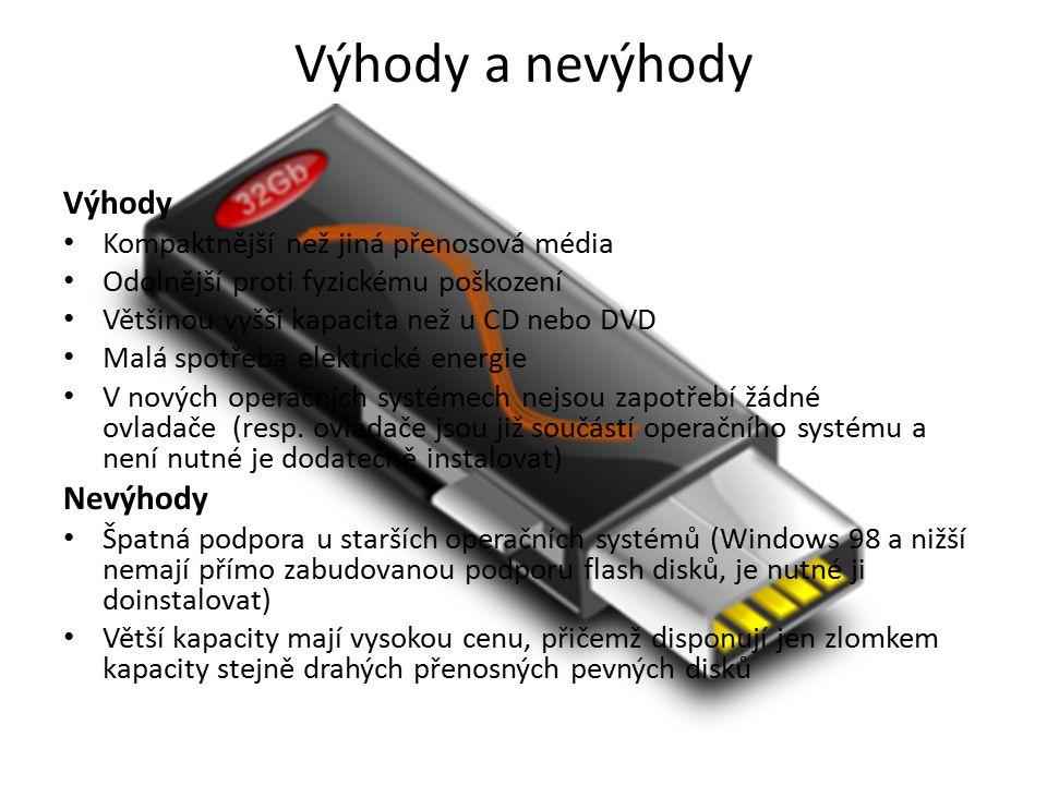 Ceník Ceny se pohybují od 80 kč (Verbatim Store n Go PinStripe - 2GB) Až po 18 854 Kč (Kingston DataTraveler HyperX Predator 512GB)