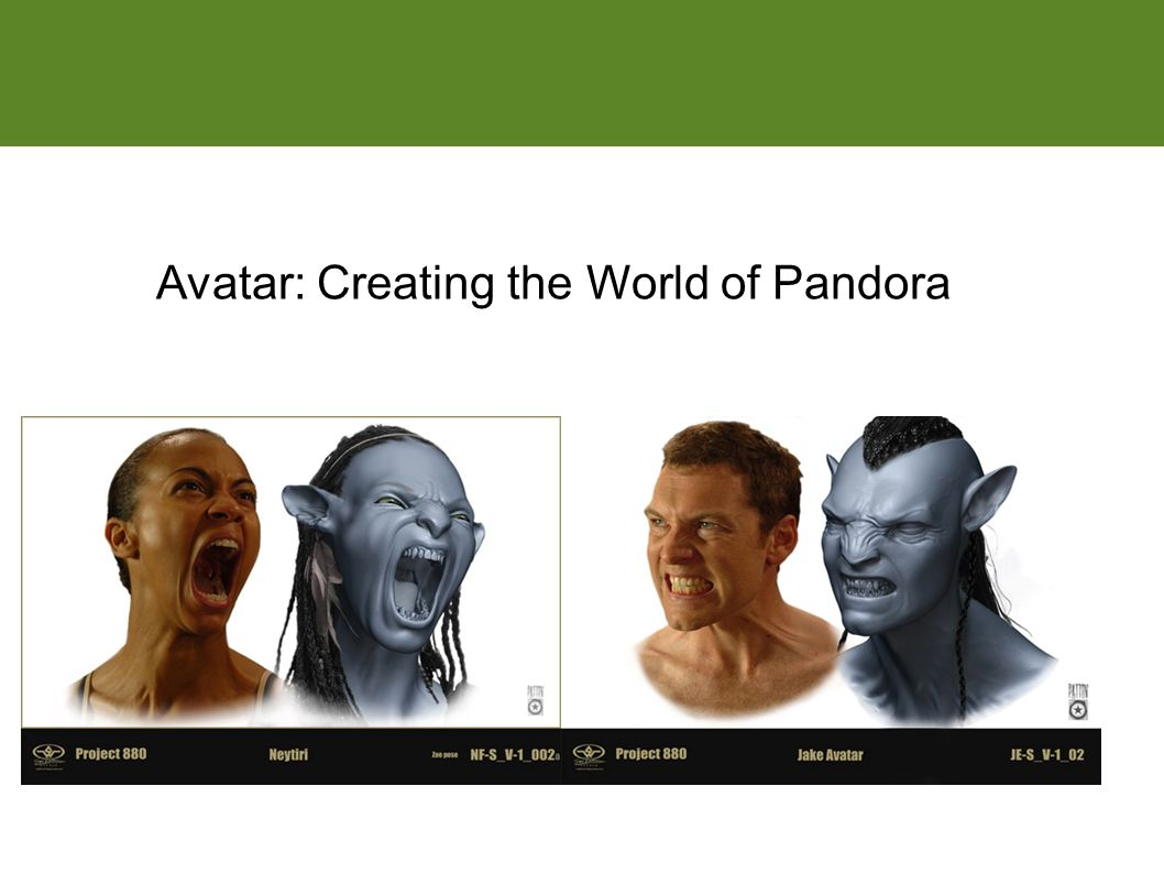 Match moving Avatar: Creating the World of Pandora