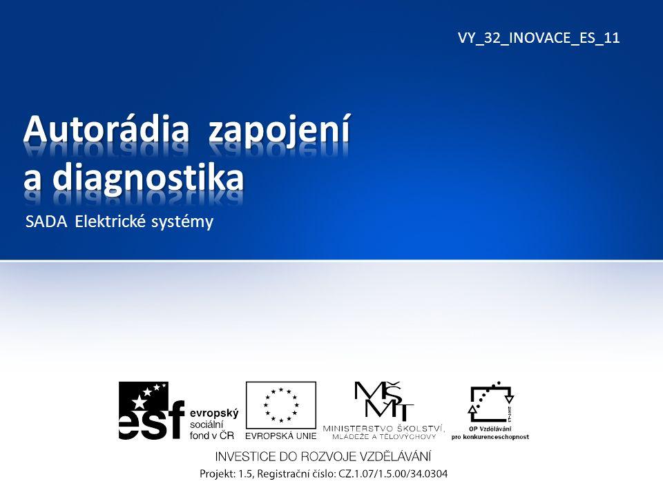 VY_32_INOVACE_ES_11 SADA Elektrické systémy