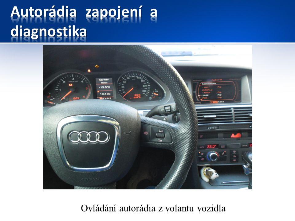 Ovládání autorádia z volantu vozidla