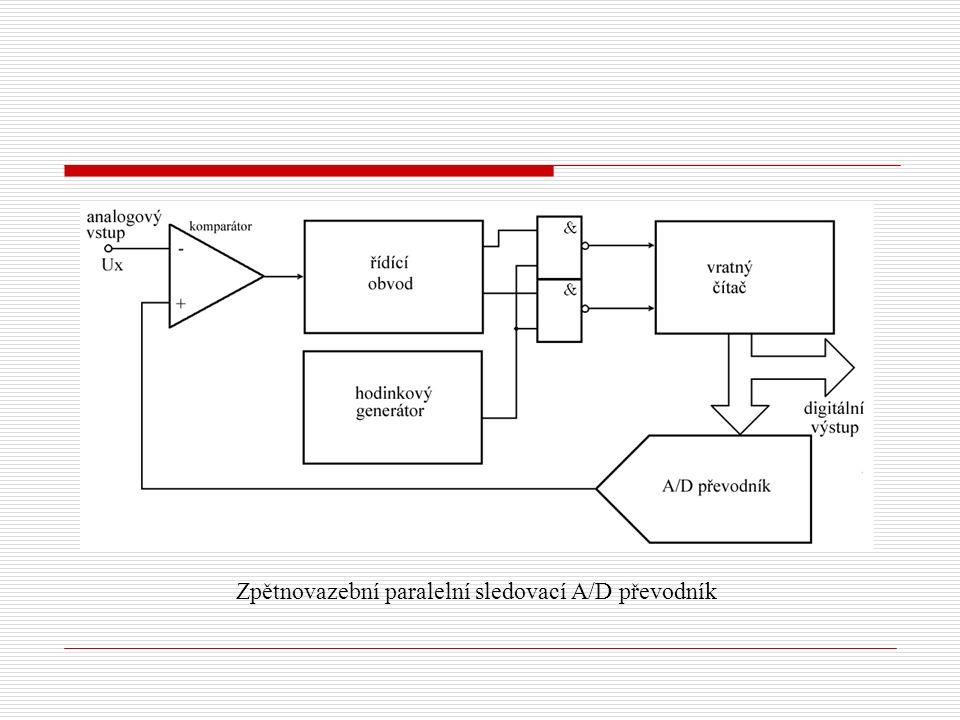 Zpětnovazební paralelní sledovací A/D převodník