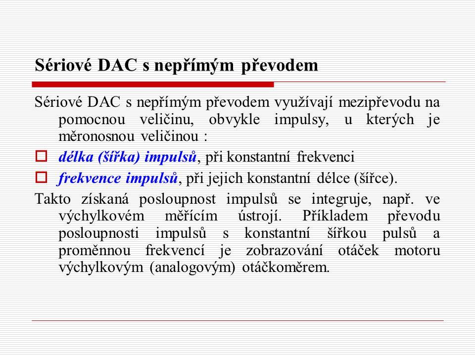 Přímé paralelní ADC bez zpětné vazby Přímé paralelní ADC bez zpětné vazby jsou A/D převodníky s pevným referenčním napětím.