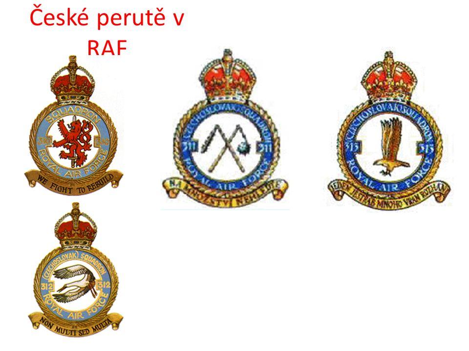 České perutě v RAF