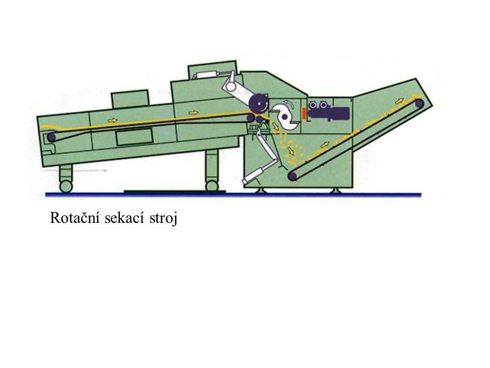 Rotační sekací stroj