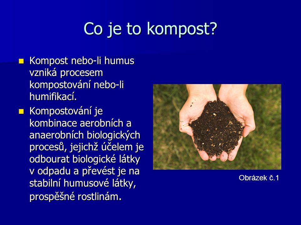 Co je to kompost. Kompost nebo-li humus vzniká procesem kompostování nebo-li humifikací.