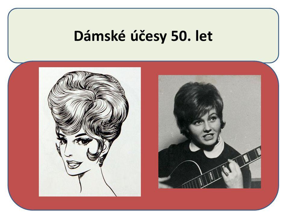 Dámské účesy 50. let