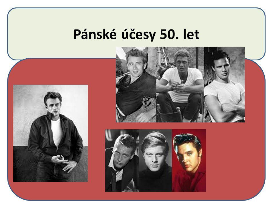 Pánské účesy 50. let