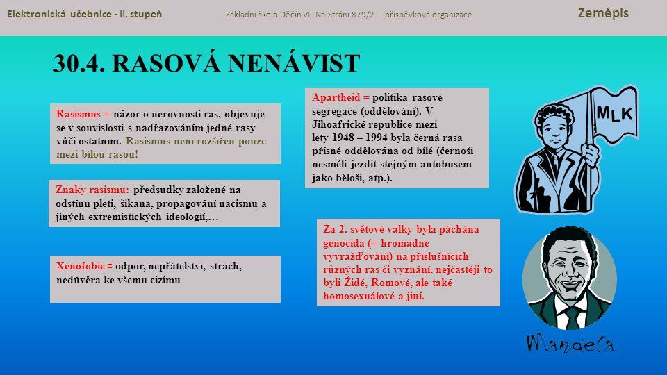 30.5.Procvičování a příklady Elektronická učebnice - II.