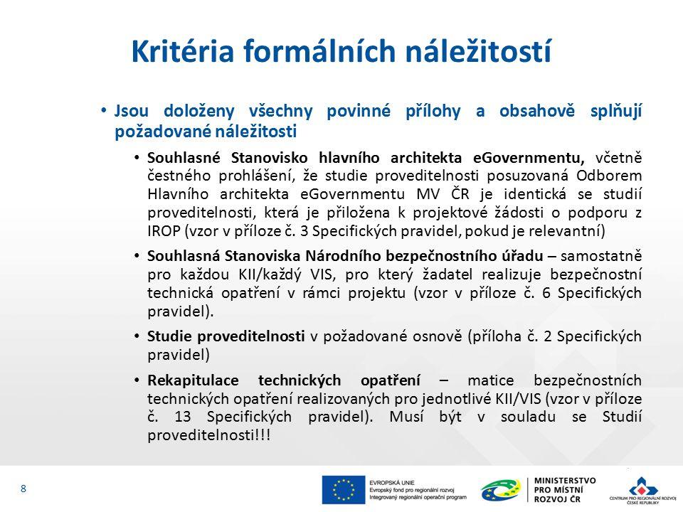 Žadatel má zajištěnou administrativní, finanční a provozní kapacitu k realizaci a udržitelnosti projektu Popsat, jakým způsobem jsou tyto kapacity zajištěny (kap.