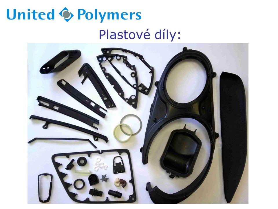 Plastové díly: