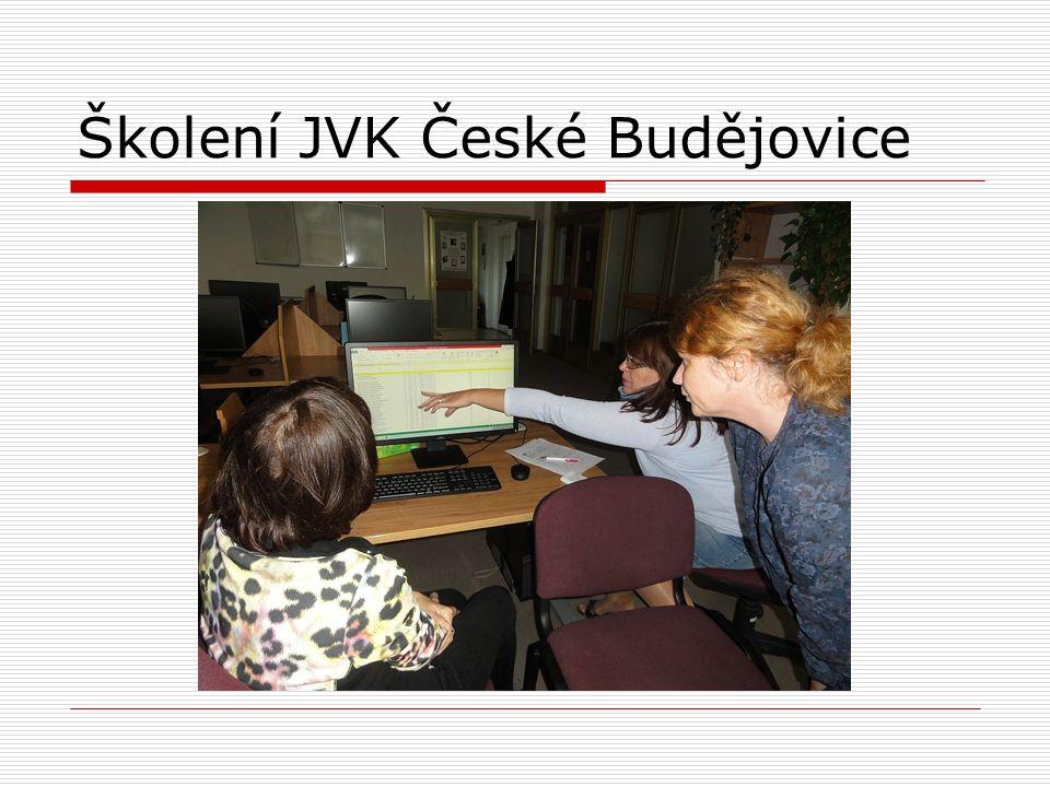 Školení JVK České Budějovice
