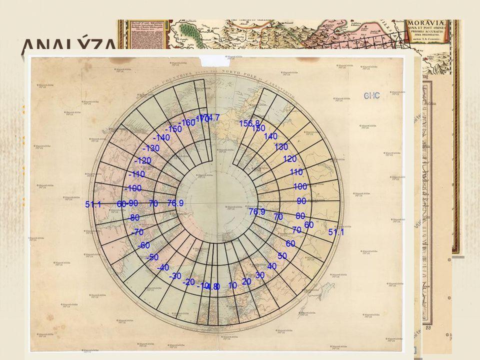  Mřížka zkreslení  Kružnice a vektory posunu  Izočáry měřítka a rotace  Detekce projekce
