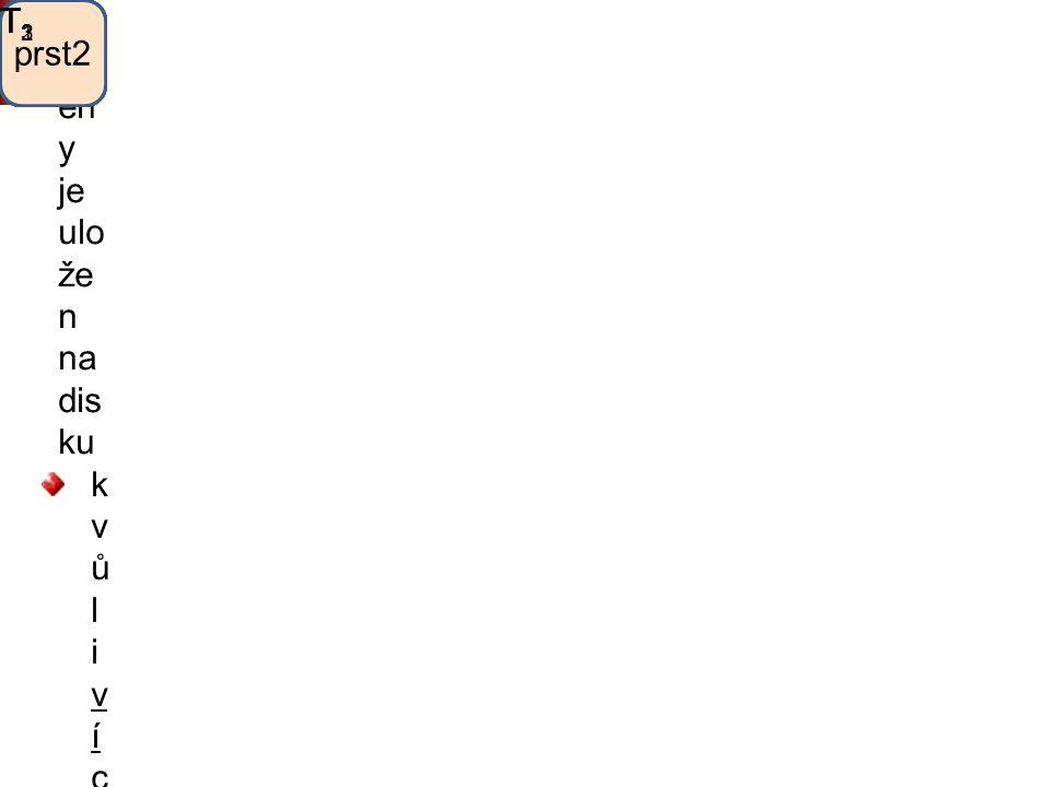 Strom scény Strom sc én y je ulo že n na dis ku k v ů l i v í c e n á s o b n ý m o d k a z ů m s e n ě k d y v p a m ě t i r o z v í j í robothlavatě