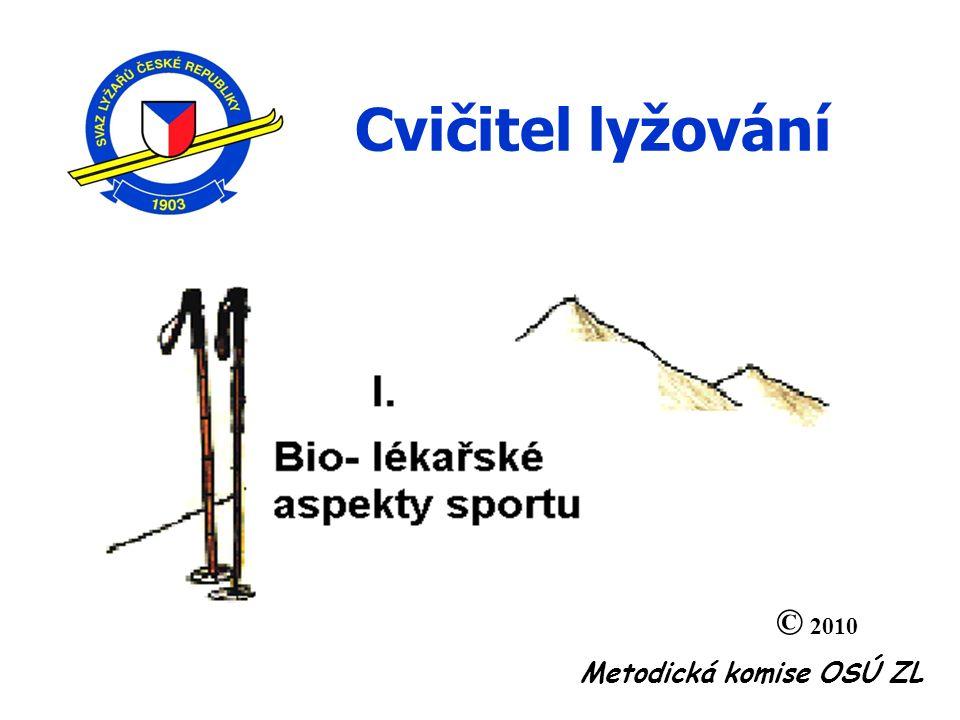 Metodická komise OSÚ ZL Cvičitel lyžování © 2010