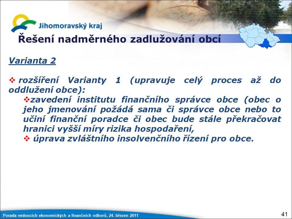 Porada vedoucích ekonomických a finančních odborů, 24.