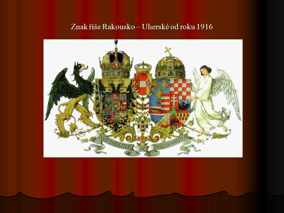 Znak říše Rakousko – Uherské od roku 1916