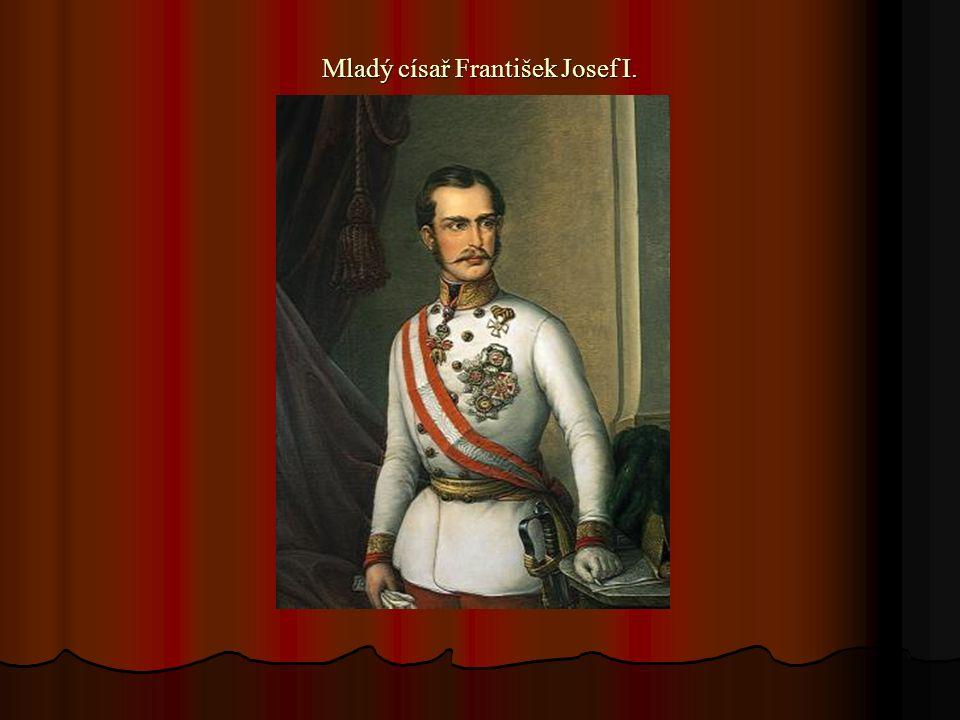 Mladý císař František Josef I.