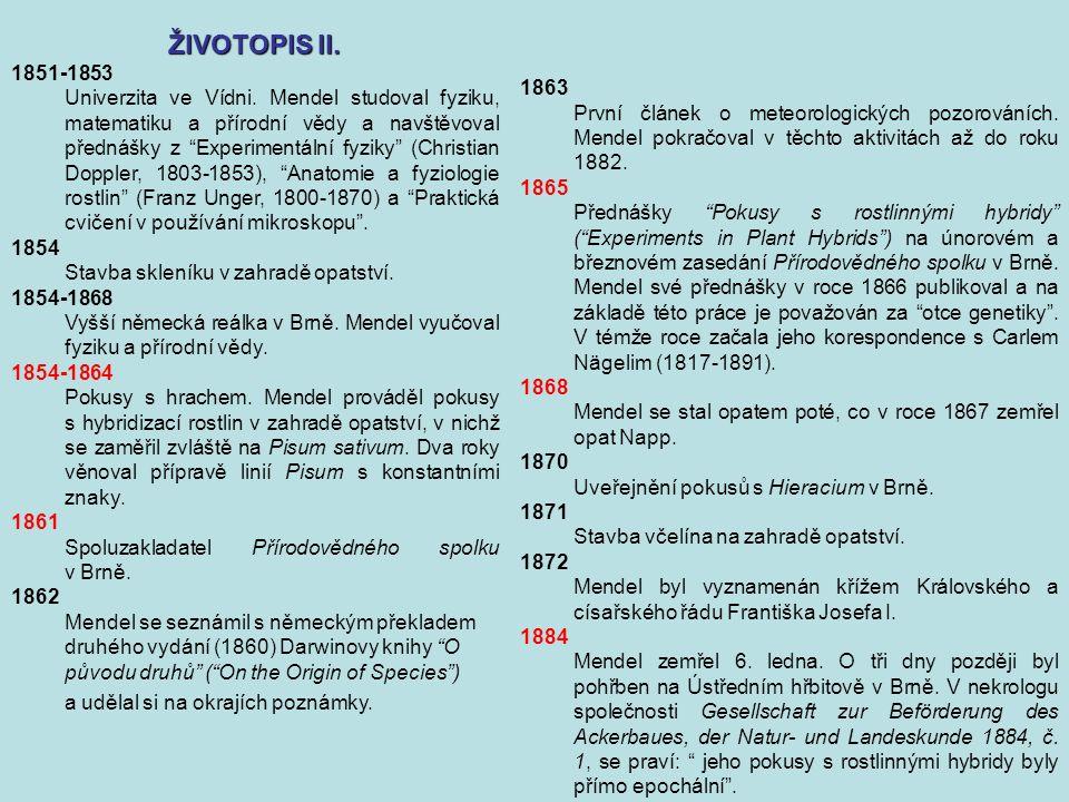 1863 První článek o meteorologických pozorováních.