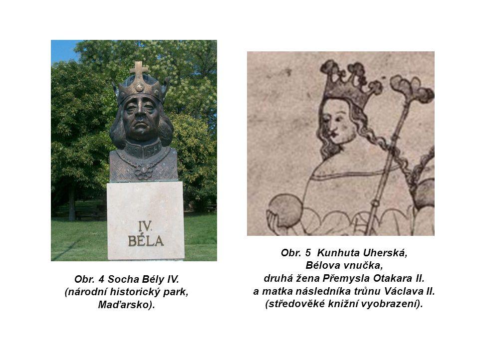 Obr. 4 Socha Bély IV. (národní historický park, Maďarsko).