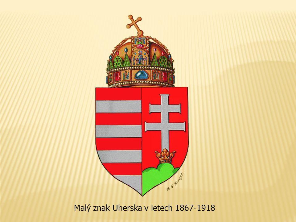 Malý znak Uherska v letech 1867-1918