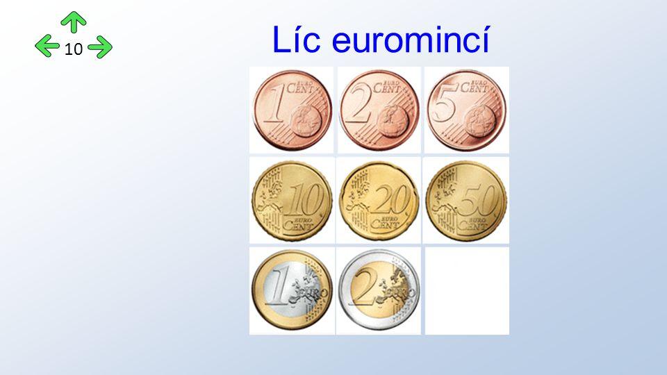 Líc euromincí 10