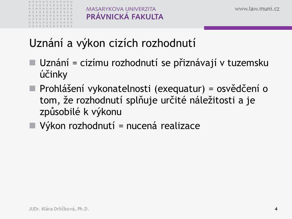 www.law.muni.cz JUDr.Klára Drličková, Ph.D.35 Článek 34 odst.