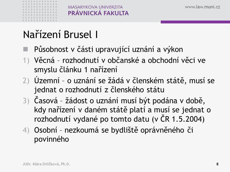 www.law.muni.cz JUDr.Klára Drličková, Ph.D.39 ??.