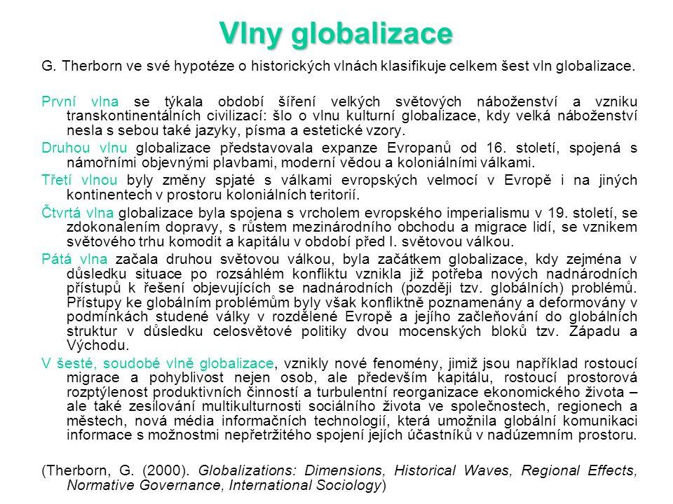 Vlny globalizace G.