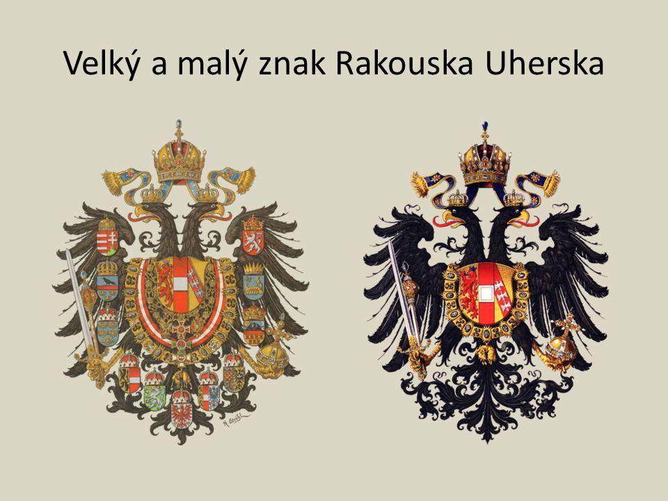 Velký a malý znak Rakouska Uherska
