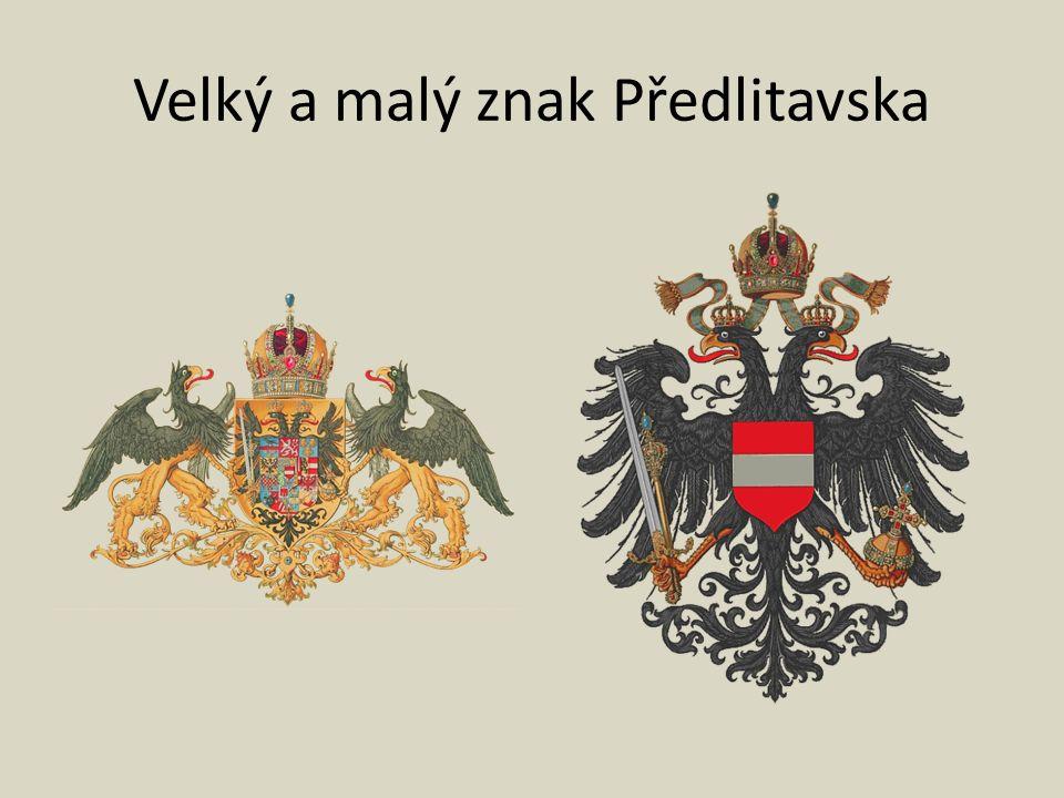 Velký a malý znak Předlitavska