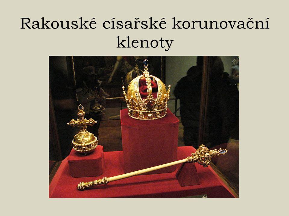 Rakouské císařské korunovační klenoty
