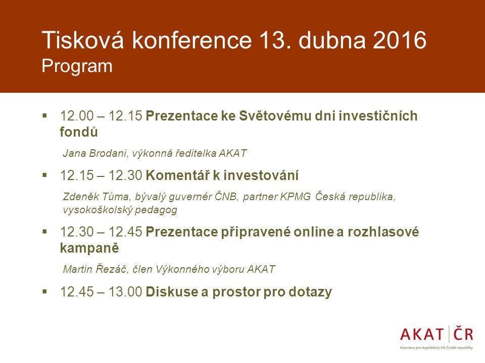 Tisková konference 13.