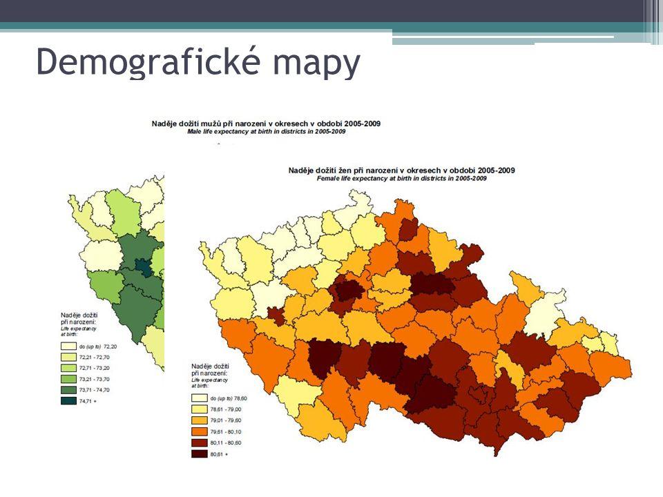 Demografické mapy