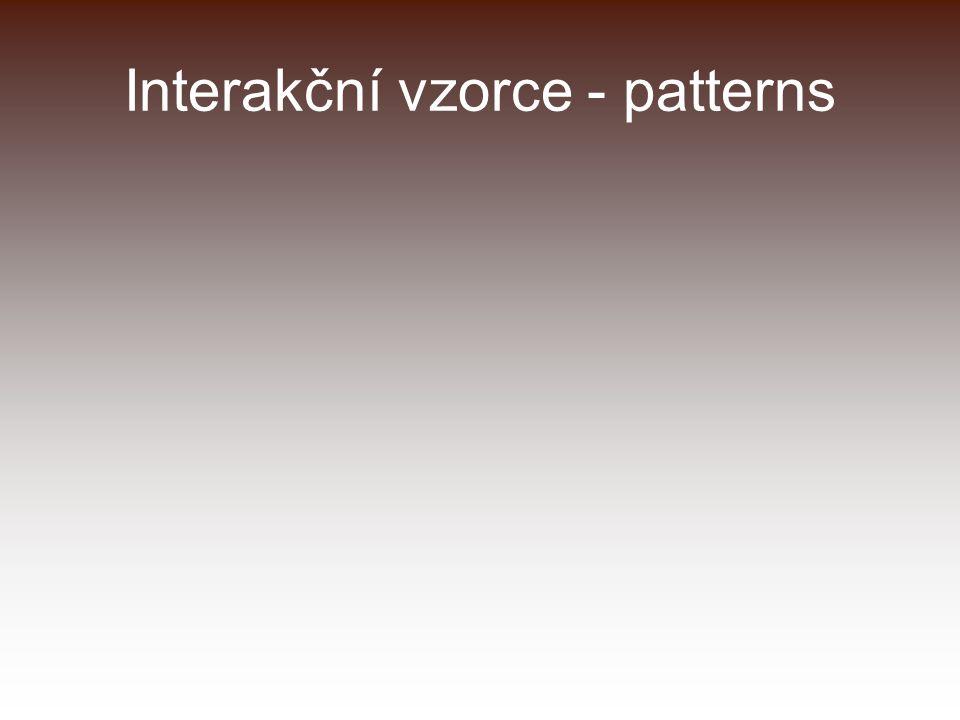 Interakční vzorce - patterns