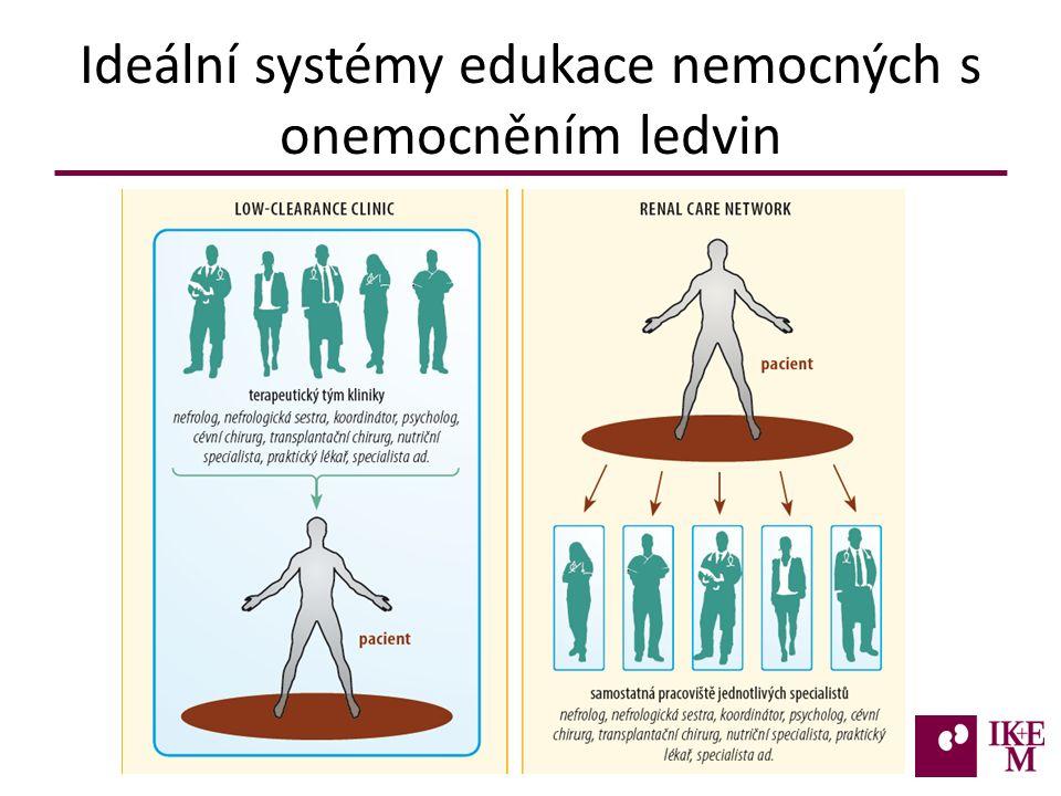 Ideální systémy edukace nemocných s onemocněním ledvin