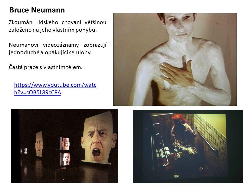 Bruce Neumann https://www.youtube.com/watc h?v=cOB5L89cC8A Zkoumání lidského chování většinou založeno na jeho vlastním pohybu.