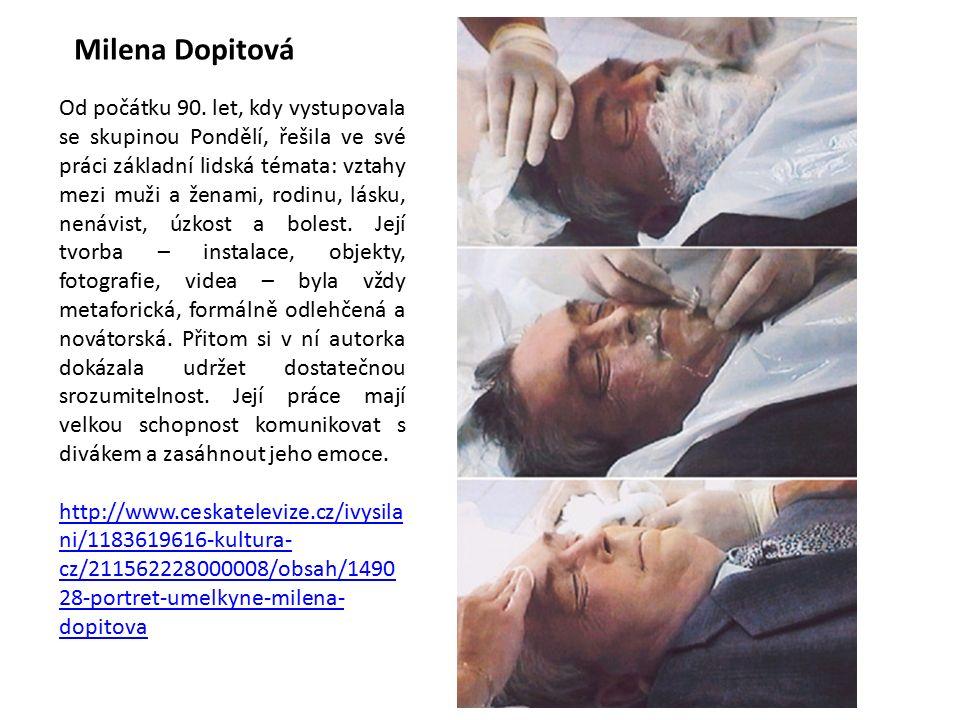 Milena Dopitová Od počátku 90.
