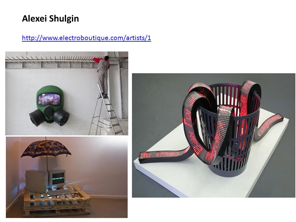 Alexei Shulgin http://www.electroboutique.com/artists/1