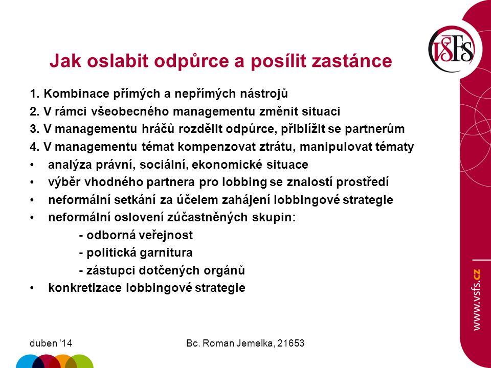 Harmonogram výstavby SOKP duben '14Bc. Roman Jemelka, 21653