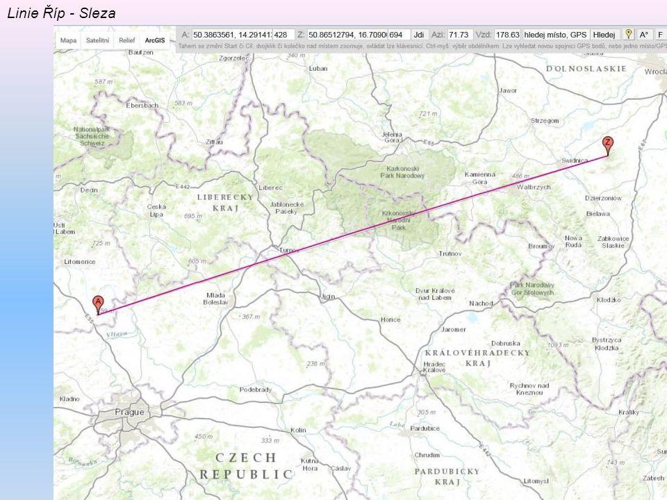 Linie Říp - Sleza