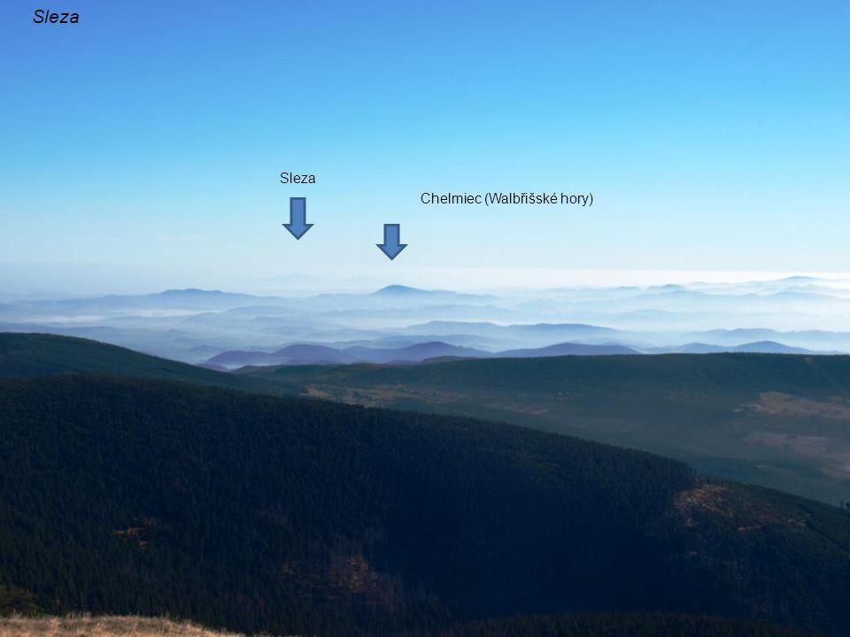 Sleza Chelmiec (Walbřišské hory) Sleza