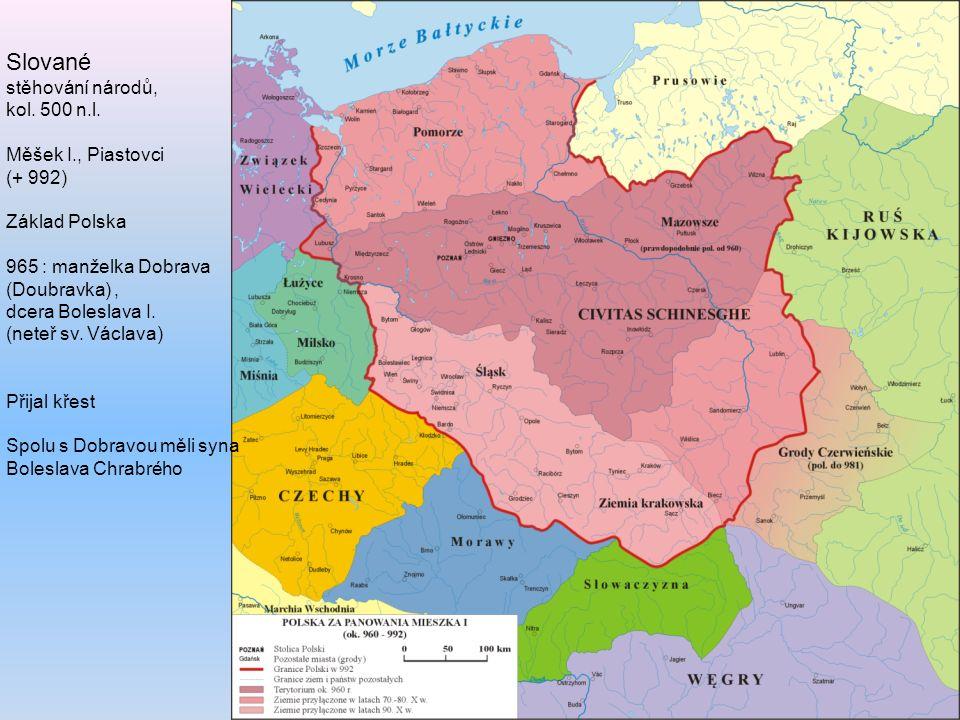 Slované stěhování národů, kol. 500 n.l.
