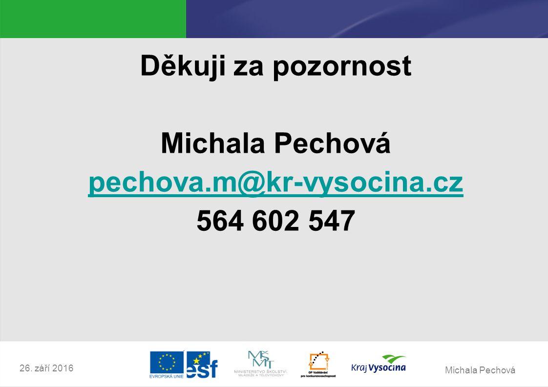 Michala Pechová 26.