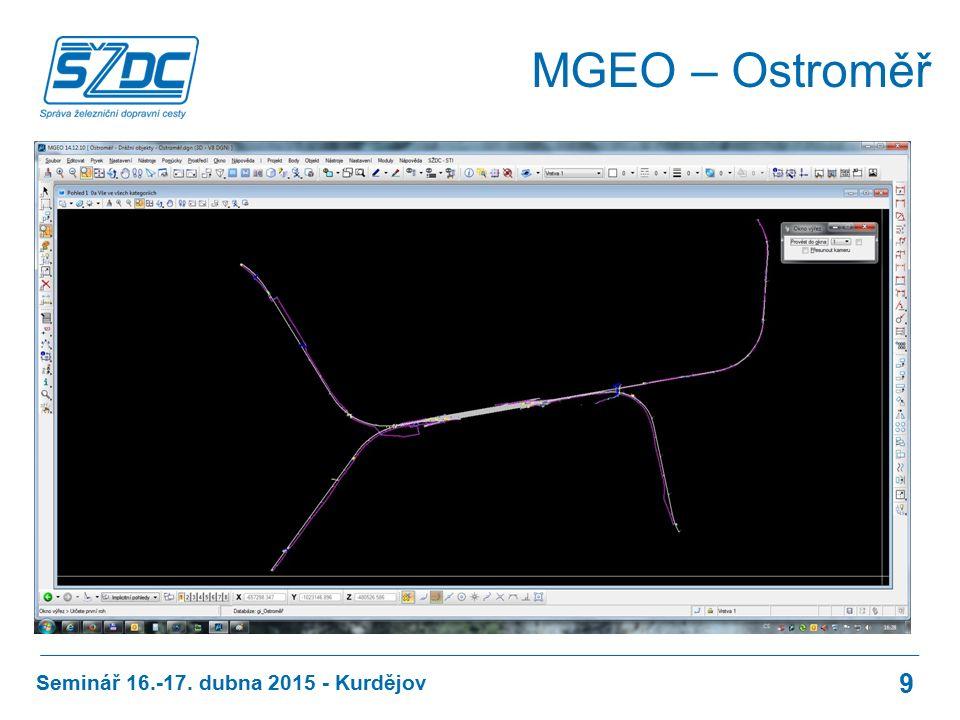 MGEO – Ostroměř Seminář 16.-17. dubna 2015 - Kurdějov 9