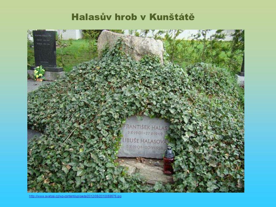 http://www.svatosi.cz/wp-content/uploads/2012/05/2010059576.jpg Halasův hrob v Kunštátě