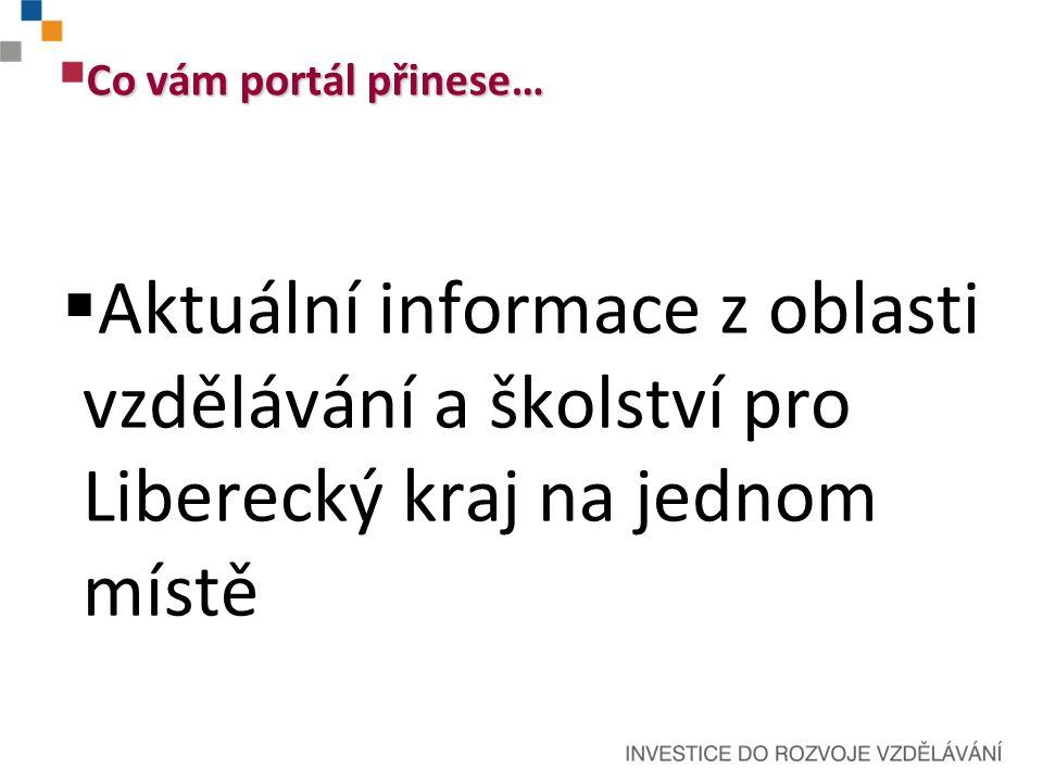 Seznam škol a školských zařízení včetně podrobného vyhledávání Současný stav portálu EDULK.cz aneb co funguje...
