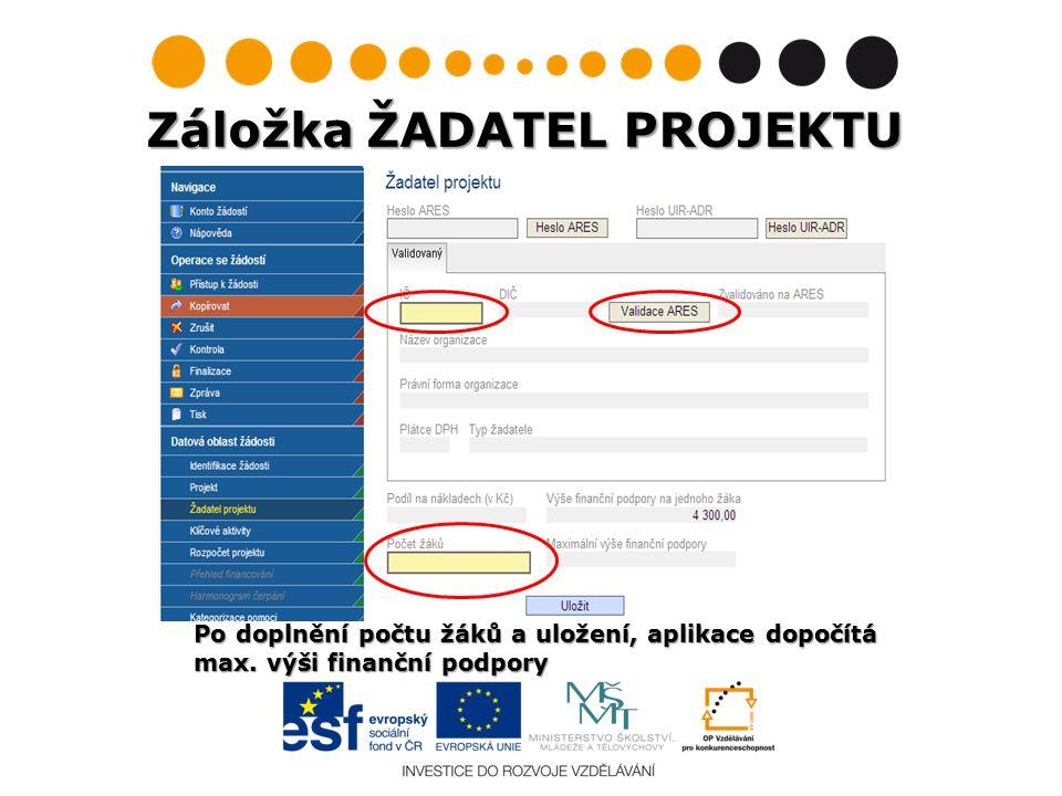 Chybné načtení názvu/adresy školy po provedení validace: Chybné načtení názvu/adresy školy po provedení validace: Nelze ze strany žadatele editovat.