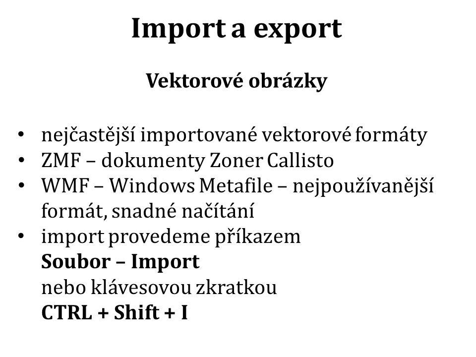 Import obrázku