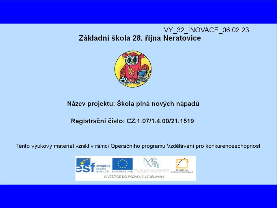Název výukového materiálu: ZÁBAVA 1.REPUBLIKY Autor: Mgr.